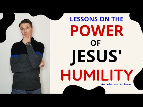 Catholic Humility! (JESUS the PERFECT example of Humility!)