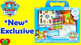 Paw Patrol Puptivities Set with Paw Patrol Toys