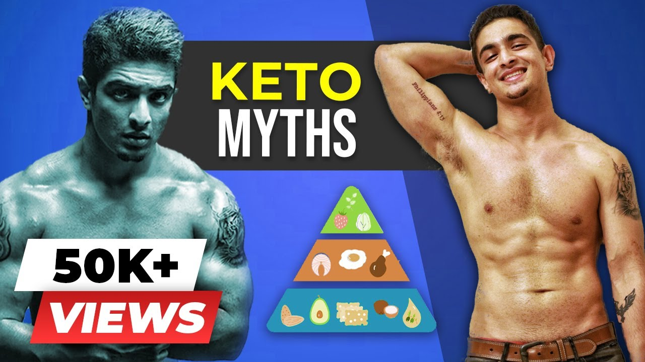 10 Keto Myths that MOST PEOPLE Believe | Truth About Keto Diet | BeerBiceps Ketogenic Diet - YouTube