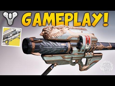 Destiny: GJALLARHORN YEAR 3 GAMEPLAY! Melting Bosses & Crucible PvP (Rise of Iron Exotic Gameplay)