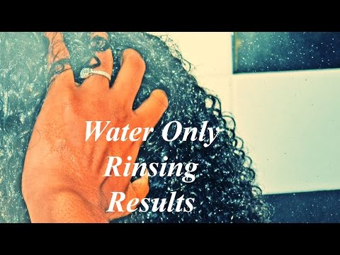 My Water Only Washing Method Natural Hair Results