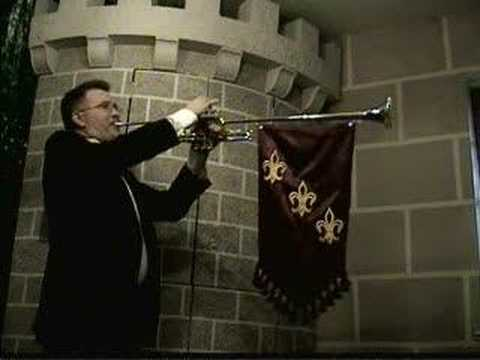 Royal Entrance Fanfare - Randy Dunn, heralding trumpet