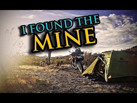 Belmont Mine   Motorcycle Camping Adventure