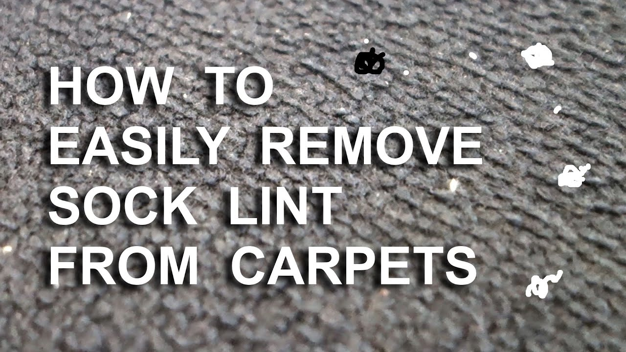 lint remover carpet cleaning technique sticky lint roller alternative youtube. Black Bedroom Furniture Sets. Home Design Ideas