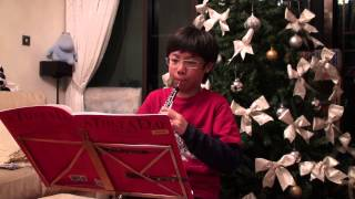 Jonathan Yeung plays oboe