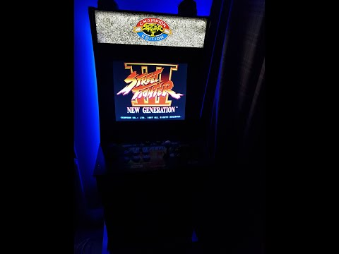 Arcade 1up Street Fighter Light Up Marquee In The UK Review from Retro Gaming And Arcade UK