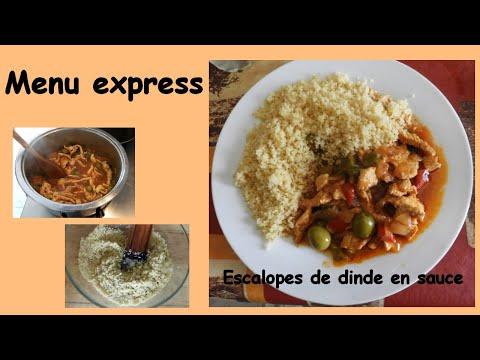 escalopes-de-dinde-en-sauce---menu-express