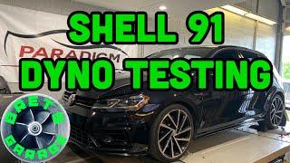 Dyno Testing Different Fuel Brands: Shell 91V Power VS Chevron 94