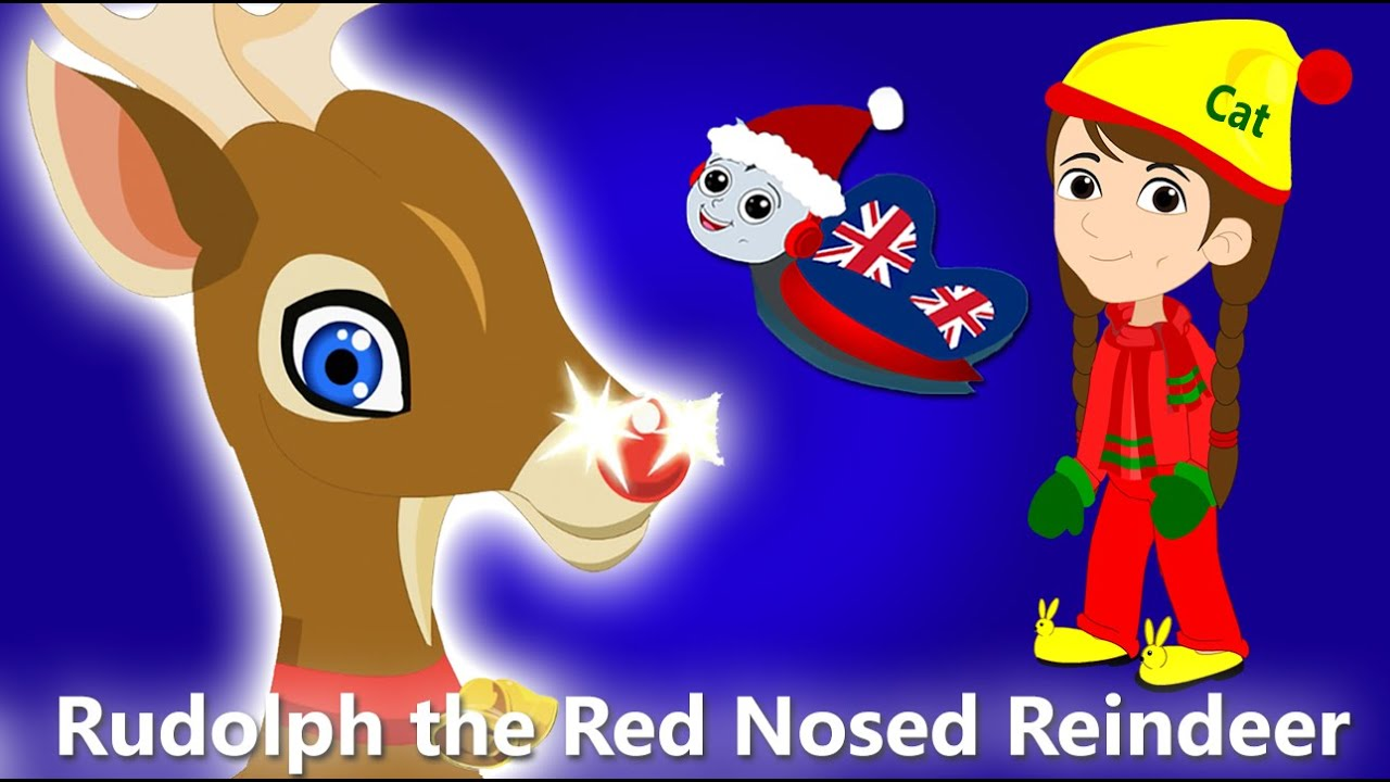 Rudolph the Red Nosed Reindeer | Christmas Songs For Children ...