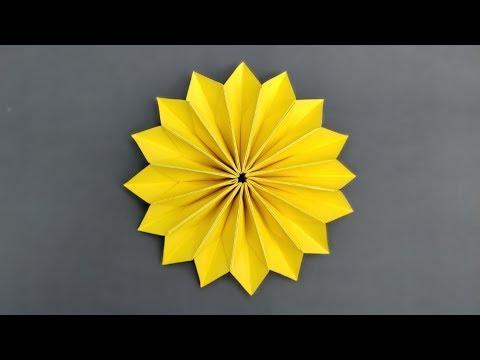 Easy Origami Flower - Paper Flowers