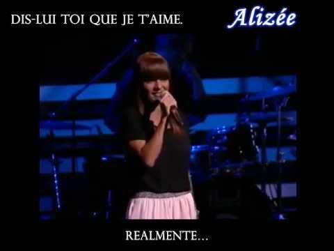 Alizée DisLui toi que je t'aime En Español