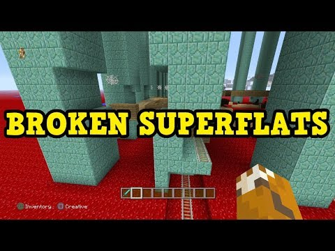 Minecraft Xbox - Top 5 Most BROKEN Custom Superflats