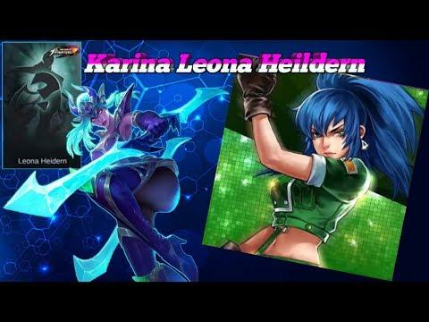Leona Heildern Karina New Skin Release? MLBB x KOF   Mobile Legends: Bang Bang thumbnail