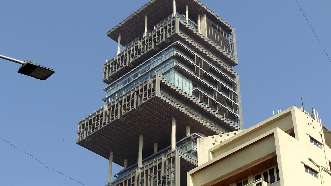 Mukesh Ambani House Antilia India In 4k Ultra Hd
