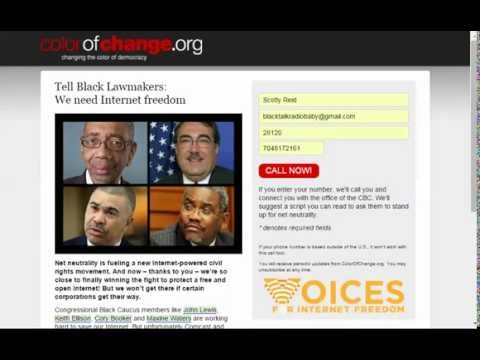 Lobbying Black Congressional Representatives For Net Neutrality