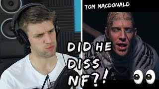 Rapper Reacts to Tom MacDonald For The First Time!! | SAD RAPPERS (NF DISS?!)