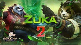 Hướng dẫn nâng cao Zuka – Gấu béo quẩy Rank Thời Đại Sát Thủ – Liên Quân Mobile – Realm of Valor