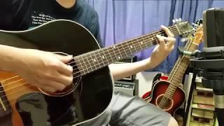フジファブリック『陽炎』をアコギ弾いて歌いました。