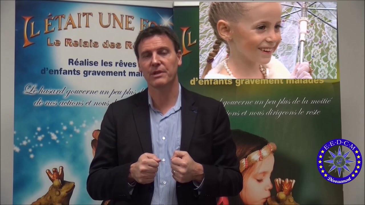 Emmanuel Traxel Secrétaire général de l'association l'Étoile européenne du dévouement civi