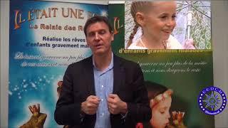 Emmanuel Traxel Secrétaire général de l'association l'Étoile européenne du dévouement civil et milit