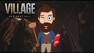 ТУСУЮСЬ С ВЕДЬМАМИ! УГАРНЫЙ Летсплей ДОМИ шоу! Прохождение игр Resident Evil 8 Village