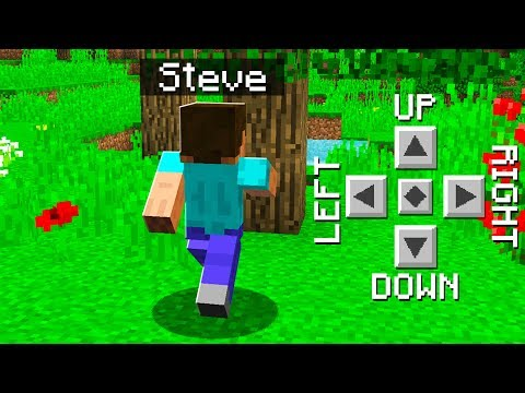 TEACHING STEVE HOW TO PLAY MINECRAFT!