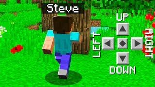 TEACHING STEVE HOW TO PLAY MINECRAFT!