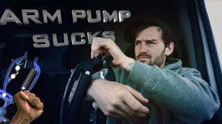 HOW TO CURE ARM PUMP!!!!!