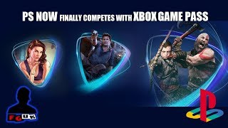 Sony Relaunch Ps Now; Finally Competes With Xbox Game Pass; $10 Monthly Access 700+ Ps3/ps4 Games!?