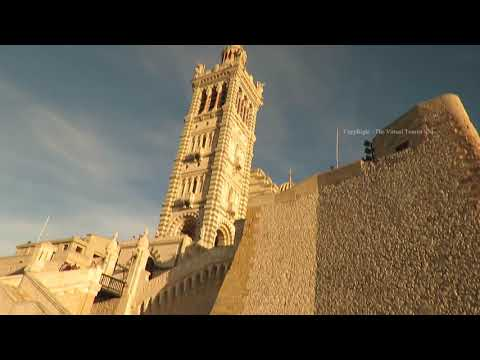 Notre Dame de la Garde Church in Marseille France 1