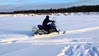 Динго Т150-супер снегоход за небольшие деньги.