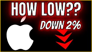 ? APPLE DROPS on HUGE Earnings Beat! [WHAT'S NEXT??] Apple Stock Price Update & Prediction