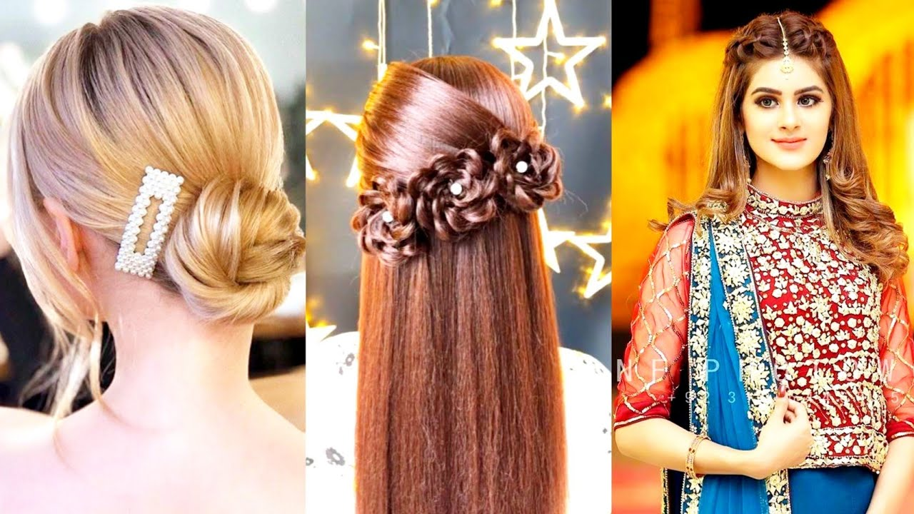 Latest Simple And Easy Hairstyles 11  Eid Special Cute Hairstyles