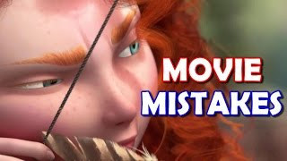 10 Movie Outtakes From Disney Brave That Made It To The Big Screen |  Brave MOVIE MISTAKES MISTAKES