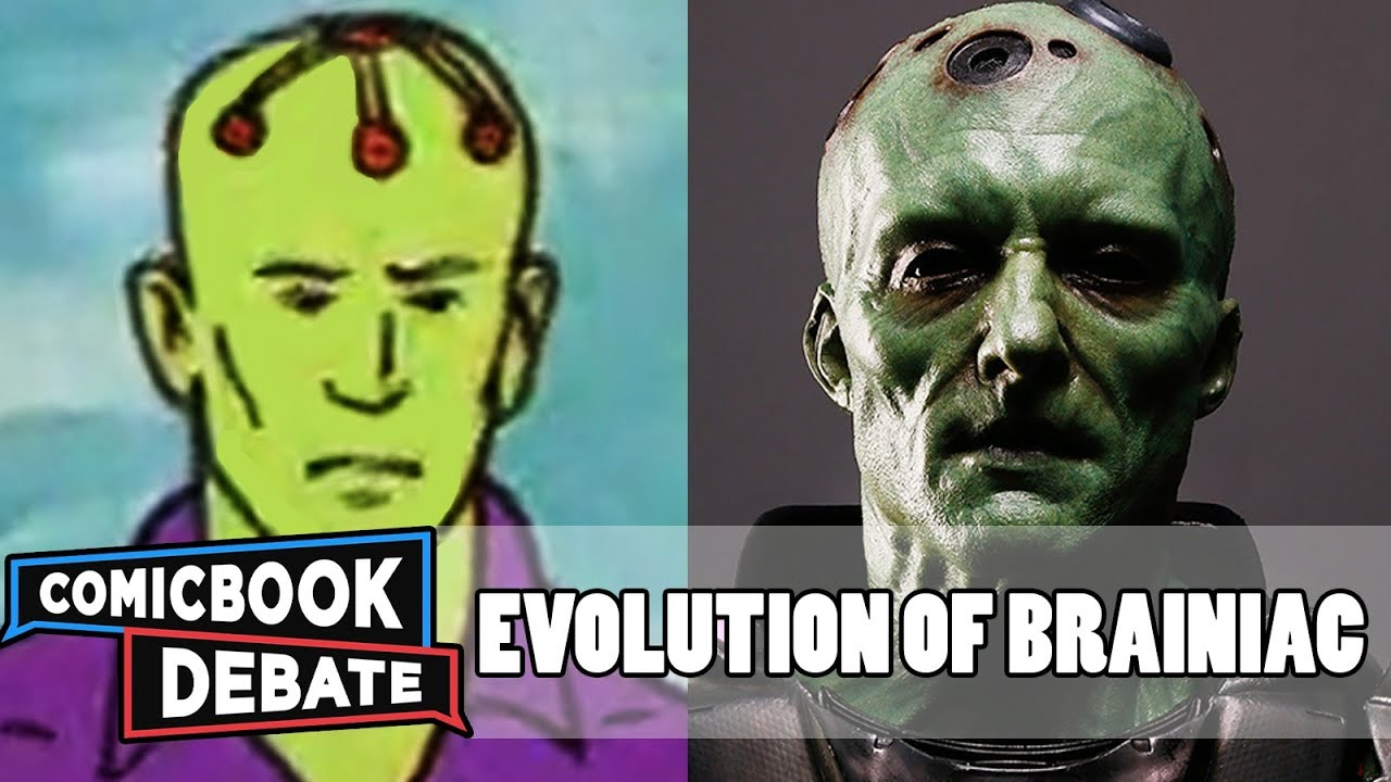 Evolution of Brainiac in Cartoons, Movies & TV in 12 Minutes (2018)