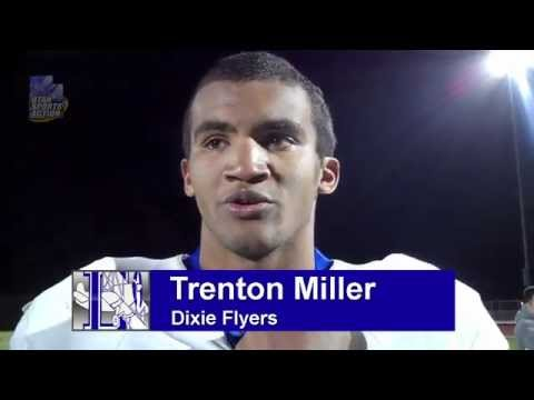 Prep football playoffs: Trenton Miller (Dixie Flyers) post-game interview after the Stansbury game.