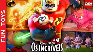 LEGO THE INCREDIBLES - #4 Gameplay - Check out Jack Jack SUPERPOWERS in this INCREDIBLE gameplay!