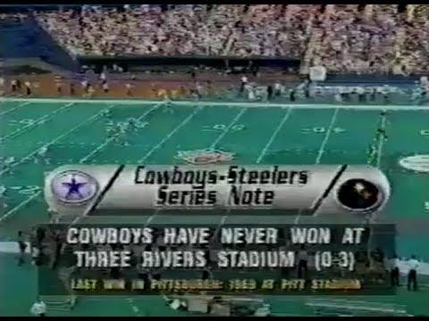 1994-09-04 Dallas Cowboys vs Pittsburgh Steelers