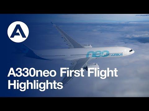A330neo First Flight: Highlights