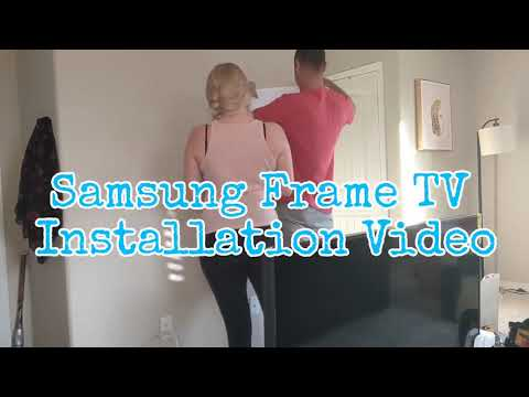 Samsung Frame TV Installation And Review