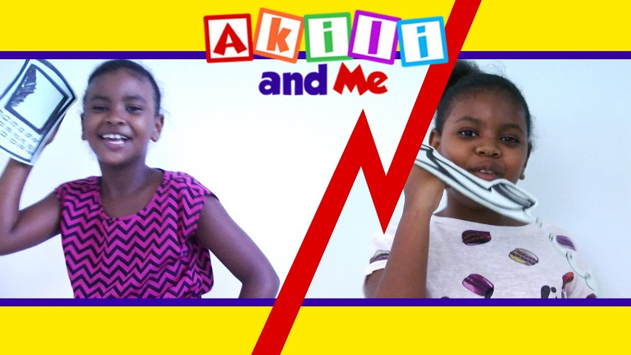 Calling My Friends! | Numbers & Shapes with Akili and Me | Educational Cartoons for Preschoolers