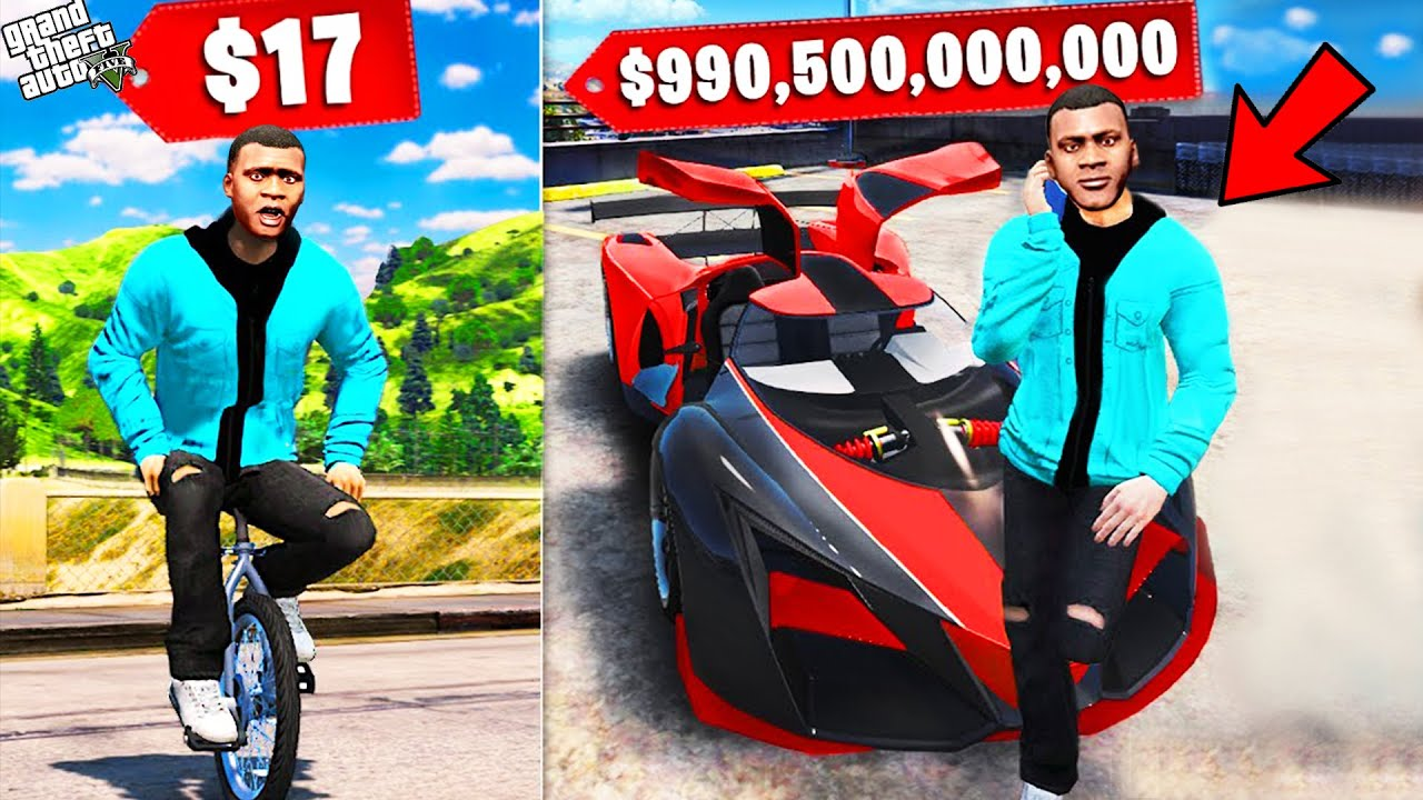 Download GTA 5 : CHEAPEST vs. MOST EXPENSIVE CARS in GTA 5 ! (GTA 5 mods)