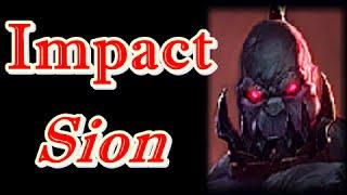 LOL Pro - SKT T1 Impact Sion vs Udyr - Korea SoloQ (Full game)