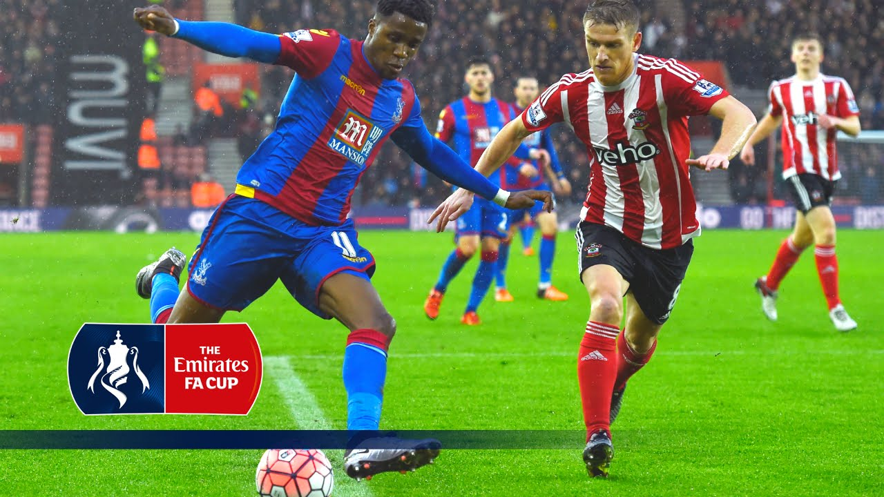 Southampton 1-2 Crystal Palace - Emirates FA Cup 2015/16 (R3) | Goals & Highlights