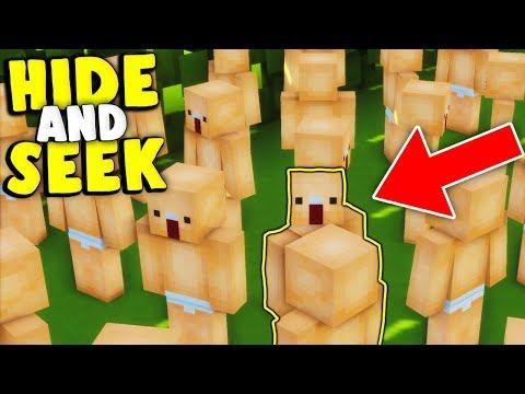 WIRD ER MICH FINDEN ? :D ( TROLLING )   Minecraft Hide and Seek