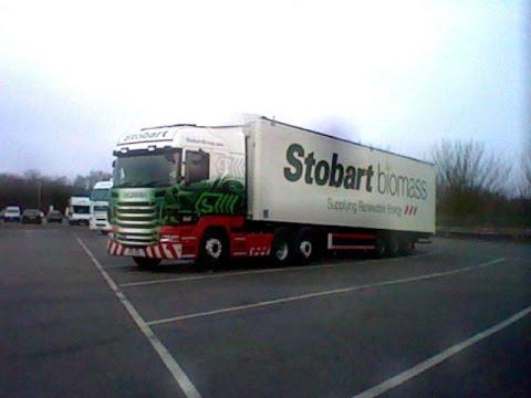 Eddie Stobart biomass (TIM FOX DRIVING)