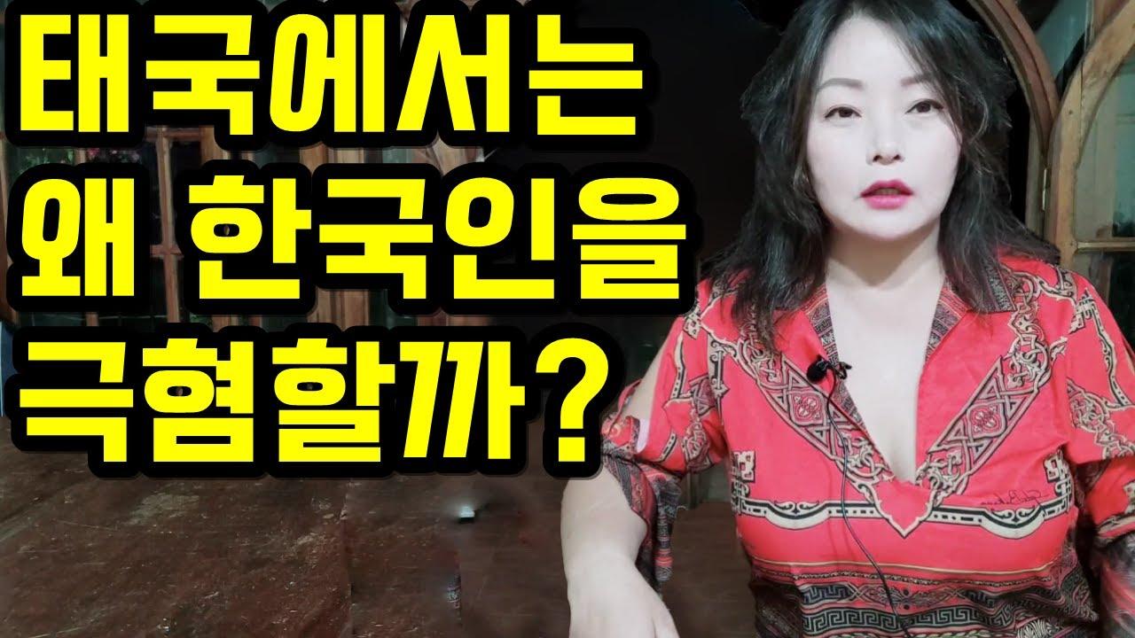 태국에서는 왜 한국인을 극혐할까? ( 실화 )