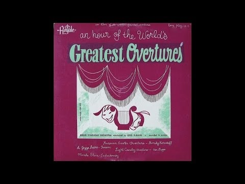 The Berlin Symphony Orchestra: An Hour Of The World's Greatest Overtures (Royale Records)