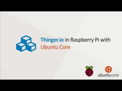 Raspberry Pi3 Image – Thinger io Server