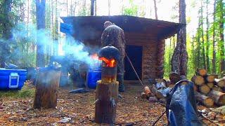 В тайгу на рыбалку к лесной избушке В эти места хочется возвращаться снова и снова
